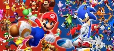 Nintendo heroes versus sega heroes