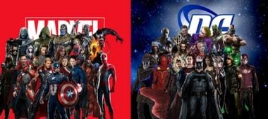 ήρωες marvel,dc comics