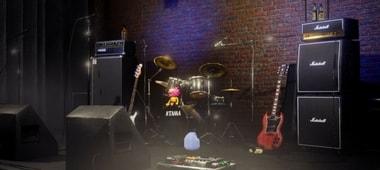 rock συγκρότημα,stage