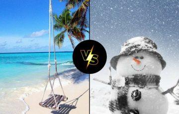 χειμώνας ή καλοκαίρι; Ποια είναι η αγαπημένη σου εποχή;